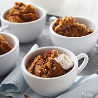 Nutty Pumpkin-Pie Pudding Recipe