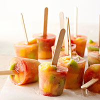 Fruity White Sangria Pops