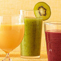 Kiwi-Honeydew Smoothie