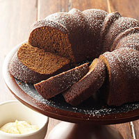 Stout Gingerbread with Lemony Hard Sauce