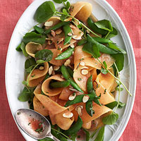 Sugar Snap Pea and Cantaloupe Salad