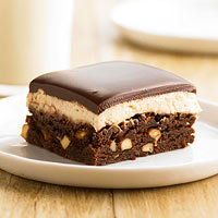 Peanutty Brownie Bars