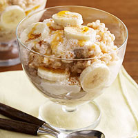 Slow-Cooker Oatmeal-Banana Maple Parfaits