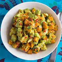 Roasted Pumpkin Guacamole