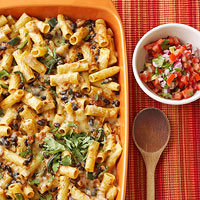 Mexican Rigatoni and Cheese