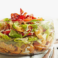 Layered California-Style BLT Salad