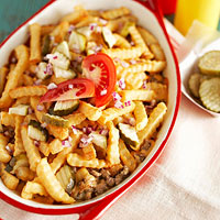 Cheeseburger-and-Fries Casserole