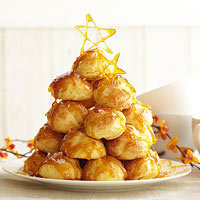 Croquembouche with Maple Cream