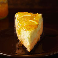 Vanilla-Scented Orange Cheesecake