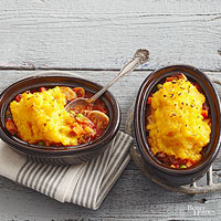 Squash and Sausage Shepherds Pie