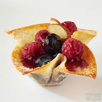 Fruit-Filled Wontons