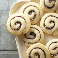 Blueberry-Walnut Twirls