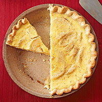 Apple-Cardamom Custard Pie