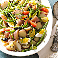 Sicilian Potato and Green Bean Salad
