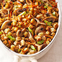 Carrot-Mushroom Stuffing