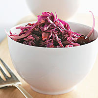 Really Red Coleslaw