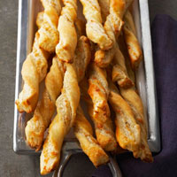 Oregano-Manchego Cheese Straws
