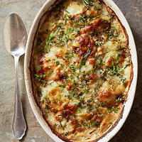 Parmesan Potato Gratin