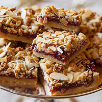 Ina Garten's Raspberry Crumble Bars