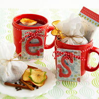 Apple Pie-Spiced Hot Tea Mix