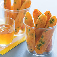 Two-Bite Jalapeno Cheddar Corn Sticks