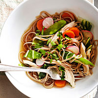 Soba Noodles with Spring Vegetables