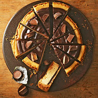 Chocolate-Peanut Butter Cheesecake