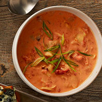 Creamy Tomato Artichoke Soup