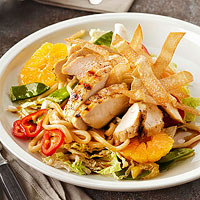 Tangerine Tare-Glazed Grilled Chicken Salad