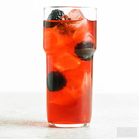 Blackberry-Bourbon Lemonade