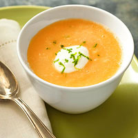 Green Tea and Honeyed Cantaloupe Soup