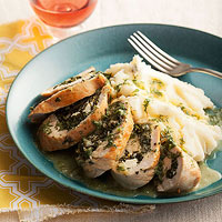 Spinach and Feta-Stuffed Chicken Breasts