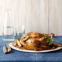 Roasted Chicken and Greek-Style Potatoes