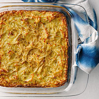 Daddy's Deep-Dish Potato Kugel