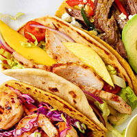 Chicken and Mango Tacos