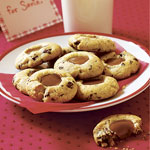 Dulce de Leche Chocolate-Chip Thumbprints