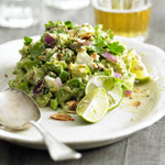 Goat Cheese and Almond Guacamole
