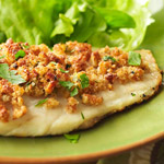 Red Snapper with Herb-Pecan Crust