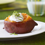 Chipotle Sweet-Potato Pigskins