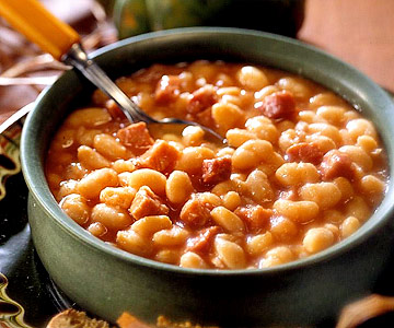 Iron Kettle Ham And Beans Midwest Living