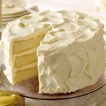 White Three-Layer Butter Cake | Midwest Living