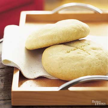 Country-Style Semolina Loaves