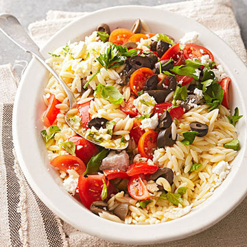 Greek Orzo Salad | Midwest Living