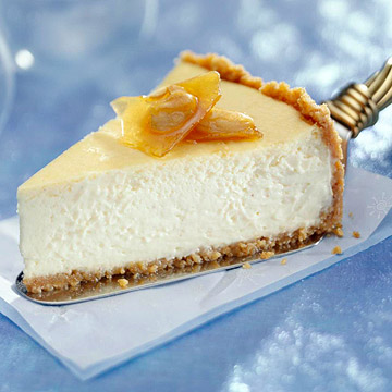 Showstopper Eggnog Cheesecake | Midwest Living