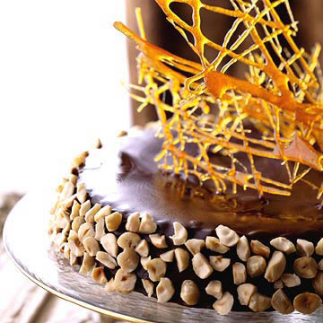 Caramel Shards Cake Decorating : Torta d Alassio Midwest Living