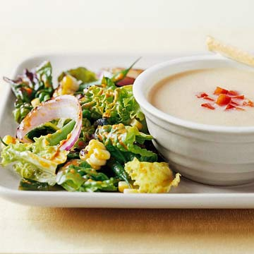 Grilled Red Onion and Corn Salad with Roasted Red Pepper Vinaigrette ...