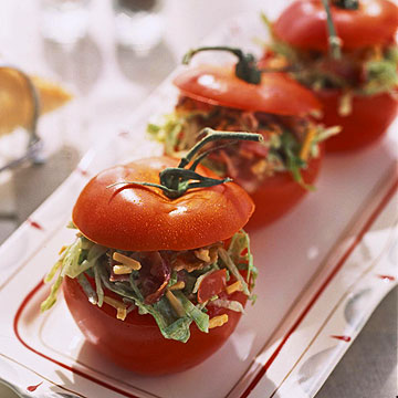 BLT-Stuffed Tomatoes