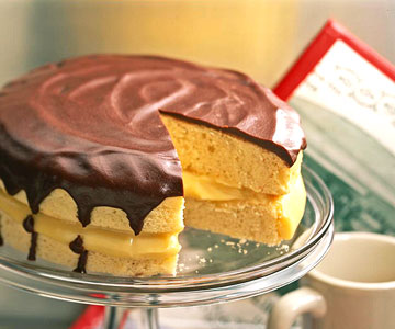 Classic Boston Cream Pie | Family Circle