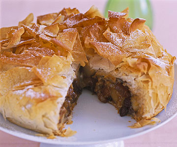 Gingered Pears In Phyllo Cups Recipe — Dishmaps