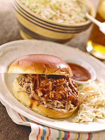 Carolina Pulled-Pork Sandwich | Family Circle